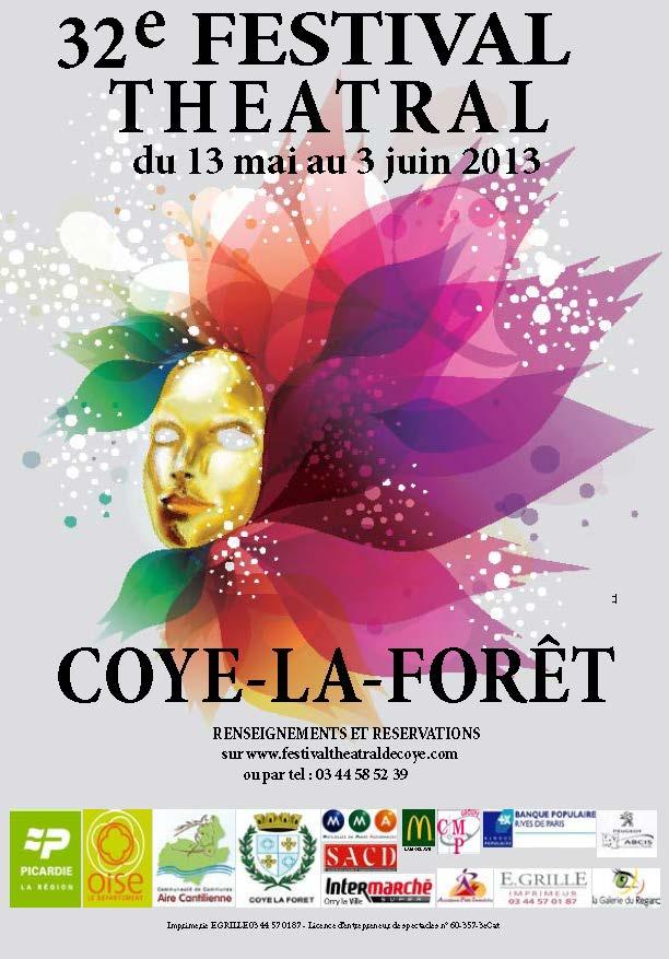 32° Festival Théâtral de Coye-la-Forêt : une édition passionnante et passionnée !