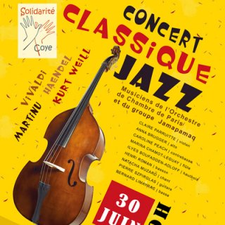 Concert classique jazz Solidarité-Coye
