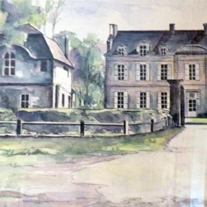 Jean-Marie Delzenne dans son atelier