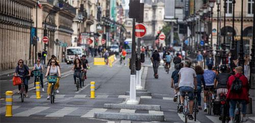 Le cauchemar vélorutionnaire des rues de Paris...