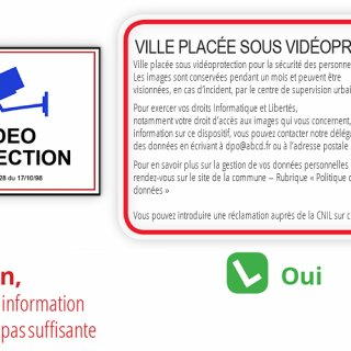Eléments sur le cadre juridique de la vidéosurveillance