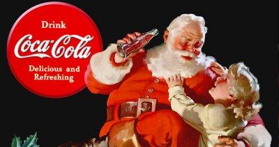 Pas vert du tout, le Père Noël !