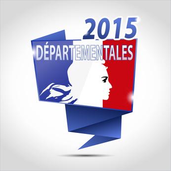 Résultats départementales 2015 - 1er tour