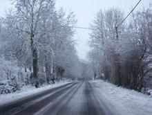 Une lectrice s'interroge sur l'entretien des routes enneigées...