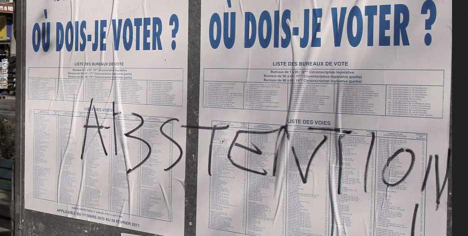 Voter... ou pas