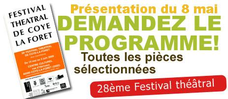 28ème Festival Théâtral : la sélection officielle