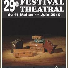 29° Festival théâtral, les trois coups !