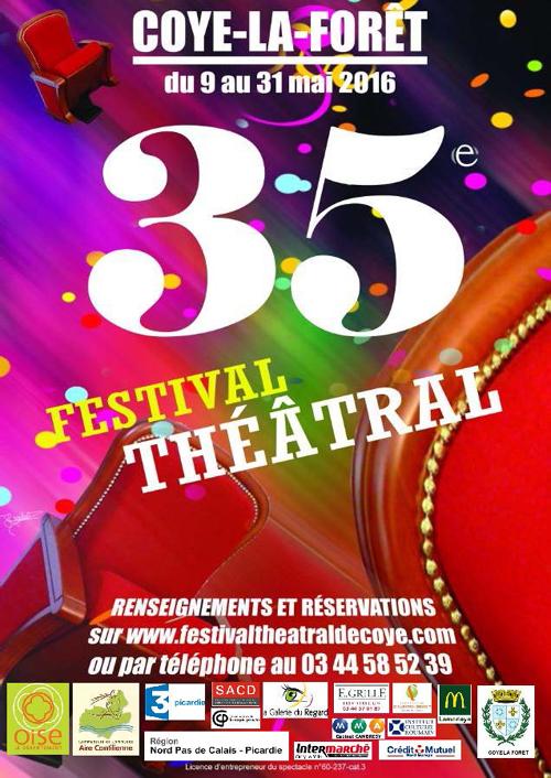35° Festival théâtral de Coye-la-forêt
