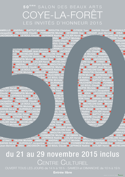 50° Salon des Beaux Arts - Vernissage