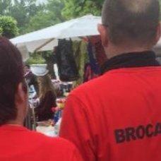 Brocante sous un crachin breton