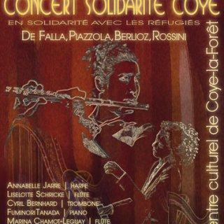 Concert Solidarité Coye