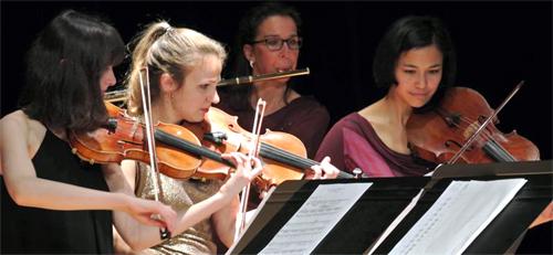 Des musiciens sur le chemin d'Emmaüs (Erquery)