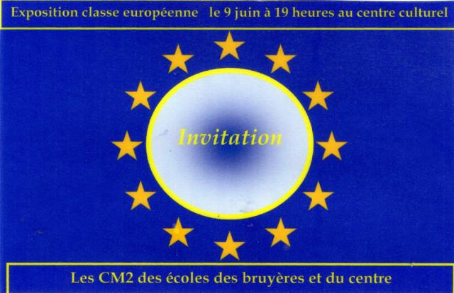 Exposition Classe européenne