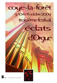 Troisième Festival Éclats d'Orgue * * *