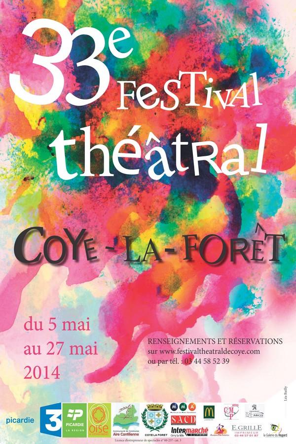 INAUGURATION DU 33° FESTIVAL THÉÂTRAL DE COYE-LA-FORÊT