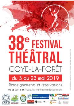 Inauguration du 38e Festival théâtral de Coye-la-Forêt