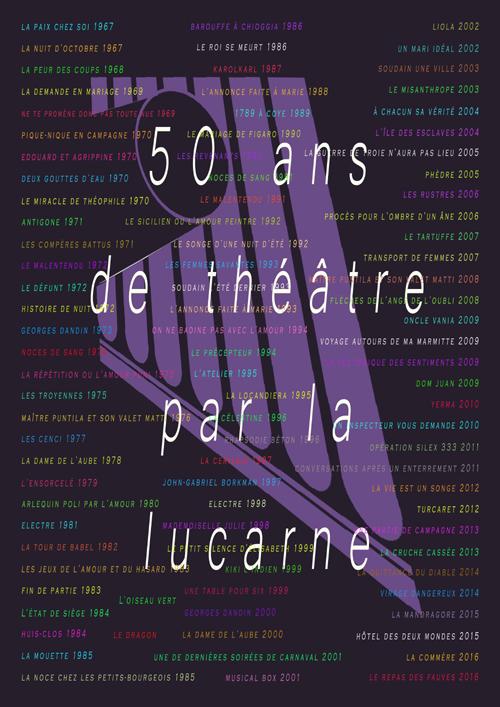 La Lucarne fête ses 50 ans !