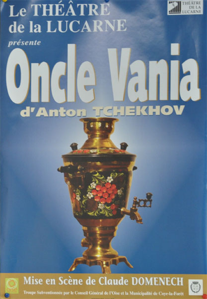 """Oncle Vania, l'existence dans """"une bulle de savon"""""""