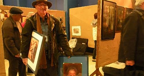 Salon des Beaux Arts : Les toiles décrochées
